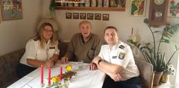 Polizeihauptmeister a. D. Otto Orbach feiert 100. Geburtstag