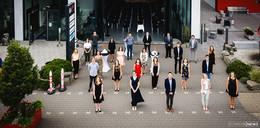 Landkreis würdigt 25 Verwaltungsabsolventen - erstmals gemeinsame Feier