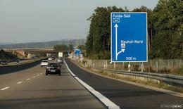 Am Wochenende: Vollsperrung der A66-Anschlussstelle Neuhof-Nord