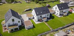 Aktuelles Projekt der Manns Bau GmbH: Neubau von acht Doppelhaushälften