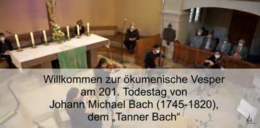 Ökumenische Vesper mit zwei Bischöfen findet in diesem Jahr endlich statt