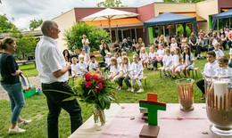 Zeit des Abschieds: KiGa Rodenberg feiert mit 27 Kindern Gottesdienst