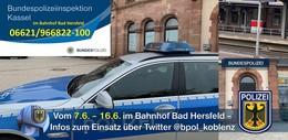 Bundespolizei Kassel geht mit Hessentagswache an den Start