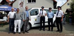 Feuerwehr Dorfborn bekommt neues Mannschaftstransportfahrzeug