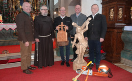 Sebastianstag zu Ehren des Schutzpatrons der Waldarbeiter und Forstleute