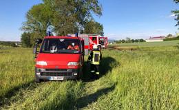 Feuerwehreinsatz zwischen Treischfeld und Großentaft: Brand gelöscht