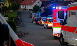 Brand in einem Wohngebäude in Mackenzell- Sechs Verletzte