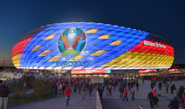 14.000 Zuschauer dürfen bei der EM in die Münchner Allianz Arena