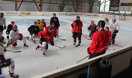 Sommereis in der Kreisstadt: Eishalle Lauterbach hat geöffnet