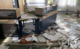 Ein Ort der Verwüstung: purer Vandalismus im Neues Landhotel Vogelsberg
