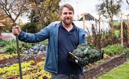Paprika, Brokkoli, oder Chili: Linus Keutzer und der etwas andere Gemüsegarten
