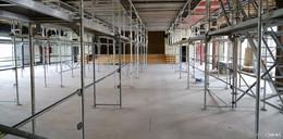 Von Vergangenheit in Moderne: Umbau der Festhalle läuft auf Hochtouren
