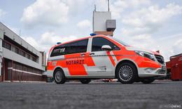 Bye bye: Letzte Fahrt für das Notarzteinsatzfahrzeug der Feuerwehr Fulda