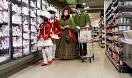 Einkauf statt Einmarsch: Wir wollen die graue Zeit etwas bunter machen