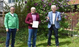 Peter Richtberg erhält höchste Auszeichnung der Landesverkehrswacht