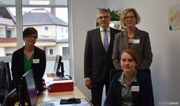 2. Pflegestützpunkt im Vogelsberg eröffnet: Individuelle Beratung im Vordergrund