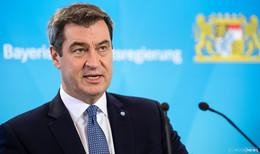 Harte Corona-Maßnahmen beschlossen - Söder: Katastrophenfall für Bayern