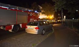 Von wegen Gartenhüttenbrand: Feuertonne glimmte unter Aufsicht