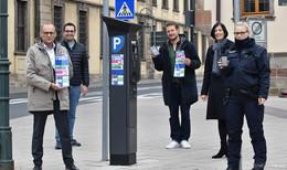 Neu in der Barockstadt: Parkgebühren bequem mit dem Handy zahlen