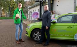 Große Spende: 10.000 Euro Zuwendung an Kinderhospiz Mitteldeutschland