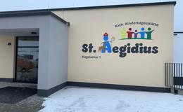 Ein Neubau mit Vorbildcharakter: Kita St. Aegidius in Marbach eröffnet