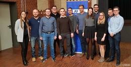 Benedikt Stock bleibt Vorsitzender der Jungen Union im Kreis