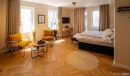 Neue Boutique-Ferienwohnungen LOFT 1540 im Mollenhauer-Haus