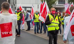 Klinikum Fulda: Beschäftigte streiken - Gesundheitswesen attraktiv machen!