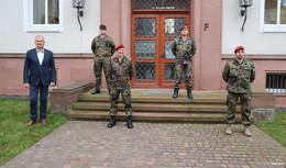 Bundeswehr hilft im Covid-19-Testcenter: Drei Soldaten unterstützen ab sofort