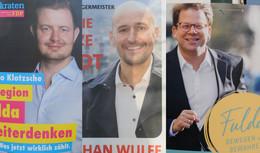 Haben sich alle Wahlkämpfer verabredet? Überall weiße Westen