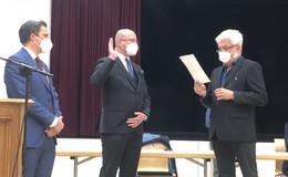 Künftiger Bürgermeister Dieter Hornung (CDU): Das Schiff auf Kurs steuern