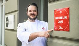 Küchenchef Christian Steska ist super stolz auf den ersten Michelin-Stern