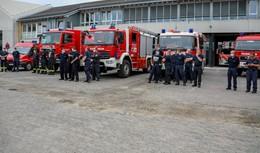 Ehrenamtliche Einsatzkräfte fahren ins überflutete Nordrhein-Westfalen