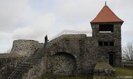 Burgruine nach Einsturz von Mauerteilen wieder uneingeschränkt begehbar