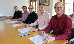 Inklusionsnetzwerk Neuhof schlossen eine Kooperationsvereinbarung
