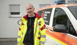 Lars Rommel ist neuer Notarzt beim DRK Kreisverband Hünfeld
