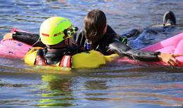 DLRG appelliert an Schwimmer: Eigene Fähigkeiten nicht überschätzen