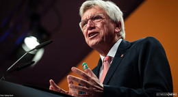 92,6 Prozent: Bouffier als hessischer CDU-Chef wiedergewählt