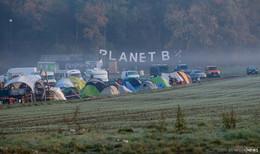Trotz Corona: Jetzt pilgern hunderte A49-Gegner ins Danni-Klimacamp