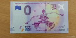 0-Euro-Schein mit Hydrophor beim Deutschen Feuerwehr-Museum erhältlich