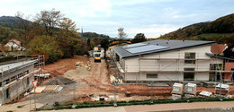 Arbeiten am RhönKinder-Haus schreiten voran - Eröffnung nach Weihnachten