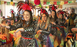 Spontane Karnevalsparty im Bürgerhaus: HR dreht im Dollen Dorf Kleba