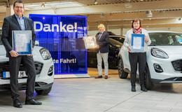 65 Jahre im Unternehmen beschäftigt: Autohaus Sorg ehrt verdiente Mitarbeiter