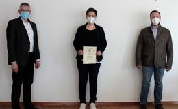 Judith Otterbein ist die neue Bienensachverständige für den Vogelsbergkreis