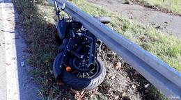 Unfall mit Motorrad am Wilhelmshof - Harleyfahrer schwer verletzt