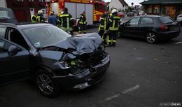 Verkehrsunfall auf der B 27 bei Friedlos: keine Verletzten, hoher Sachschaden