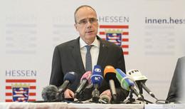 Innenminister Peter Beuth: Intensive Ermittlungen, Schutz für Betroffene