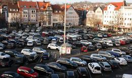 Wegen Corona: Parken am Marktplatz bleibt bis Ende März kostengünstiger