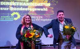 Grüne Gianina Zimmermann und Joachim Nophut für Wahlkreis 174 gewählt