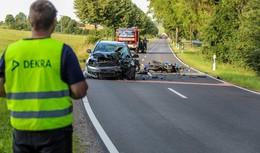 Kollision auf der K 250- 61-jähriger Kradfahrer aus Grebenhain tödlich verletzt